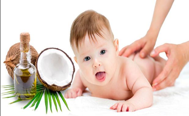 طريقة استخدام زيت جوز الهند لشعر الاطفال
