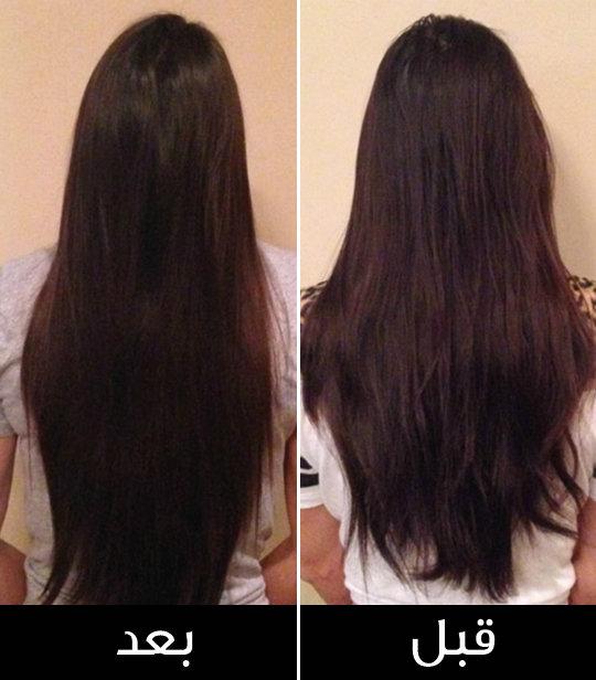 طريقه استخدام زيت جوز الهند لتكثيف الشعر