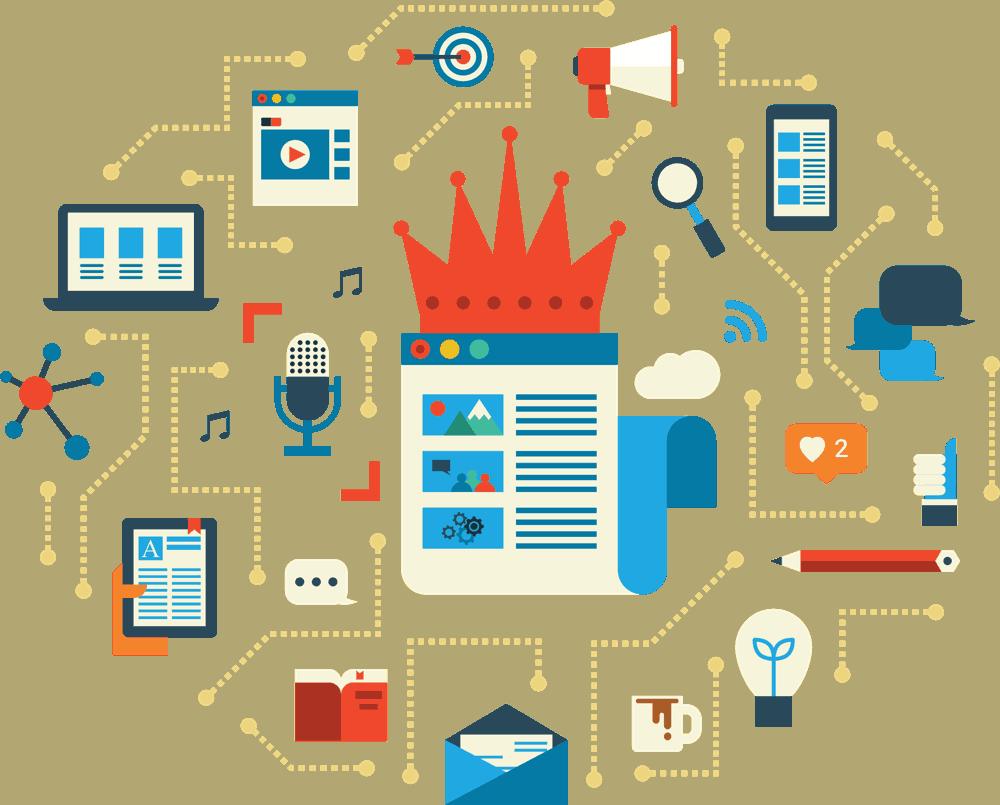 الاستراتيجية التسويقية المحتوى خطوات