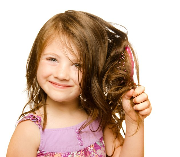 فوائد زيت الأرغان للشعر الأطفال