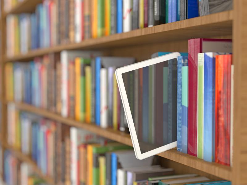 مشروع مكتبة الكترونية