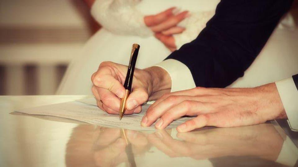 شروط توثيق عقد الزواج من اجنبية