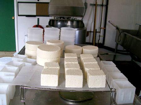 ادوات صناعة الجبن
