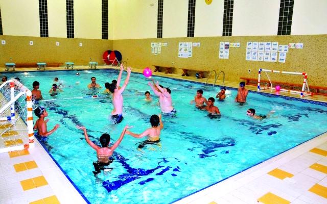 مسبح أطفال جدة