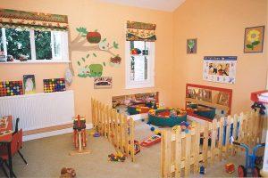 شروط مبنى مركز ضيافة أطفال