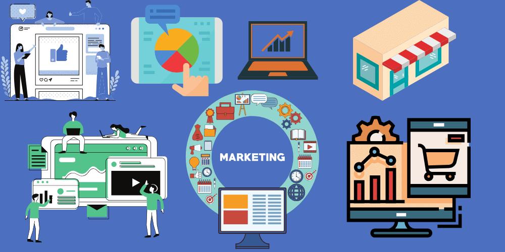 فرص التسويق الالكتروني