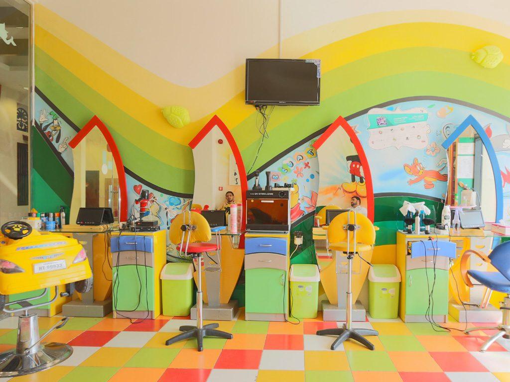 مشروع صالون اطفال متنقل