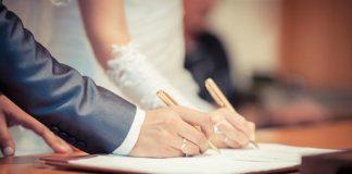 معاملة تصحيح وضع زواج